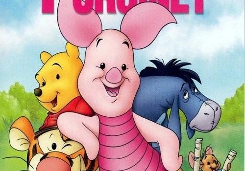 """Affiche du film """"Les Aventures de Porcinet"""""""