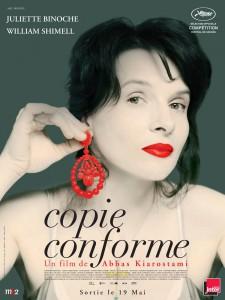 """Affiche du film """"Copie Conforme"""""""