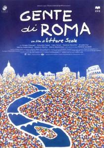 """Affiche du film """"Gente di Roma"""""""