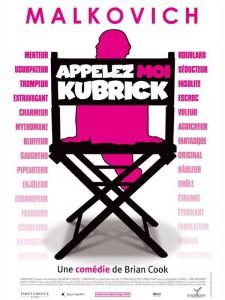 """Affiche du film """"Appelez-moi Kubrick"""""""