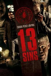 """Affiche du film """"13 Sins"""""""