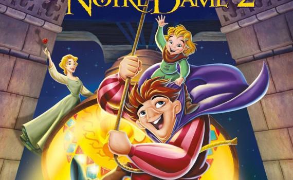 """Affiche du film """"Le bossu de Notre-Dame 2"""""""