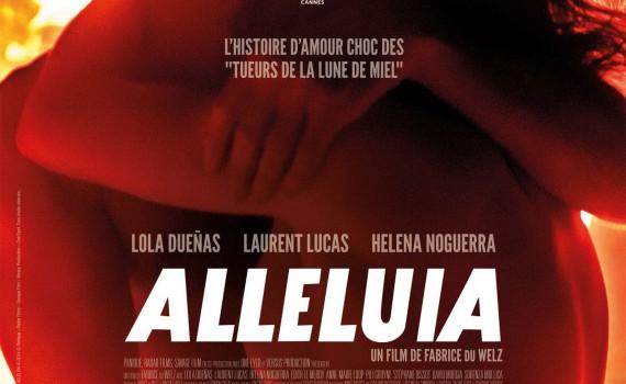 """Affiche du film """"Alléluia"""""""