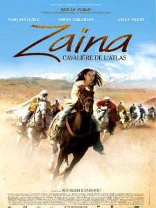 """Affiche du film """"Zaïna, cavalière de l'Atlas"""""""