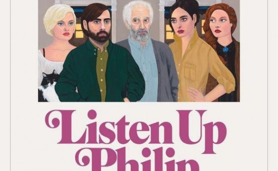 """Affiche du film """"Listen Up Philip"""""""