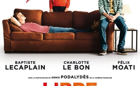 """Affiche du film """"Libre et assoupi"""""""