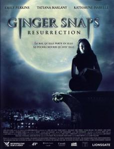"""Affiche du film """"Ginger Snaps 2 : Résurrection"""""""