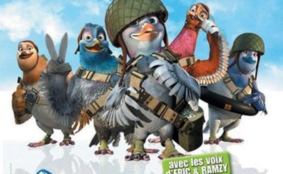 """Affiche du film """"Vaillant : Pigeon de Combat !"""""""
