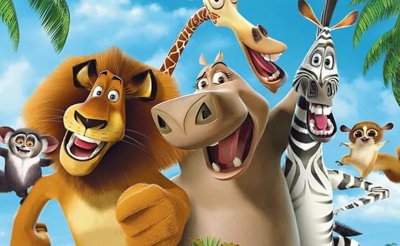 """Affiche du film """"Madagascar"""""""