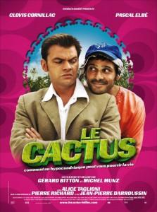 """Affiche du film """"Le Cactus"""""""