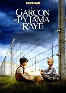 """Affiche du film """"Le garçon au pyjama rayé"""""""