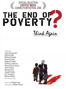 """Affiche du film """"The End of Poverty?"""""""
