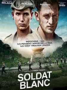 """Affiche du film """"Soldat blanc"""""""