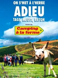 "Affiche du film ""Camping à la ferme"""