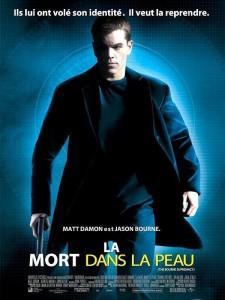 """Affiche du film """"La Mort dans la peau"""""""