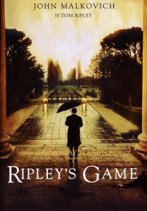 "Affiche du film ""Ripley's Game"""