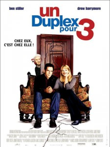 """Affiche du film """"1 duplex pour 3"""""""