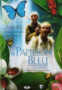 """Affiche du film """"Le Papillon bleu"""""""