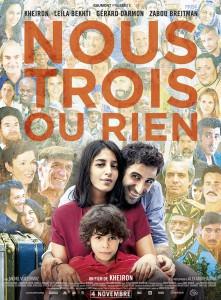 """Affiche du film """"Nous trois ou rien"""""""