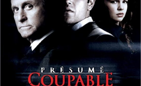 """Affiche du film """"Présumé Coupable"""""""
