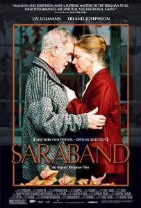 "Affiche du film ""Sarabande"""