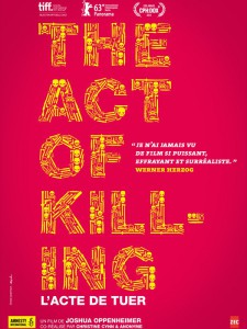 """Affiche du film """"The Act of Killing"""""""