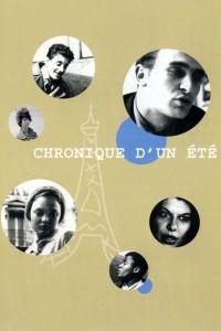 """Affiche du film """"Chronique d'un été (Paris 1960)"""""""
