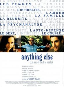 """Affiche du film """"Anything else, la vie et tout le reste"""""""
