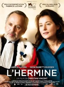 "Affiche du film ""L'Hermine"""