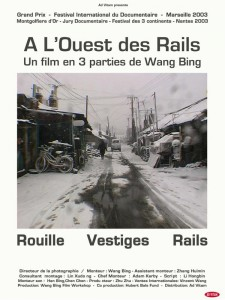 """Affiche du film """"À l'ouest des rails"""""""