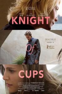 """Affiche du film """"Knight of Cups"""""""