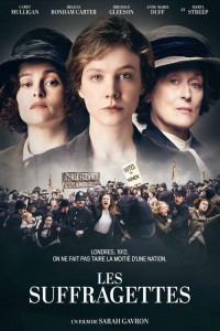 """Affiche du film """"Les Suffragettes"""""""