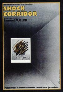 "Affiche du film ""Shock Corridor"""