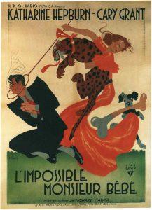 """Affiche du film """"L'Impossible Monsieur Bébé"""""""