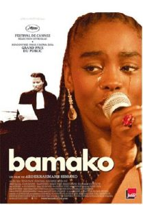 "Affiche du film ""Bamako"""