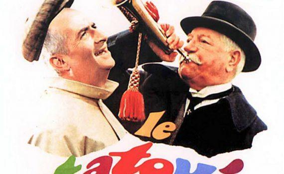 """Affiche du film """"Le Tatoué"""""""