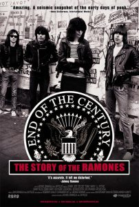 """Affiche du film """"End of the Century: The Story of The Ramones"""""""
