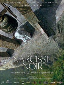 """Affiche du film """"Le Narcisse noir"""""""