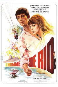 """Affiche du film """"L'Homme de Rio"""""""