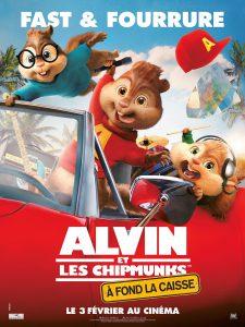"""Affiche du film """"Alvin et les Chipmunks : À fond la caisse"""""""