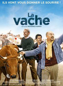 """Affiche du film """"La Vache"""""""