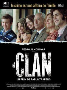 "Affiche du film ""El Clan"""