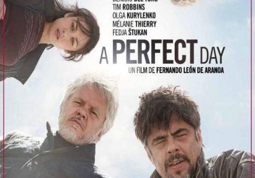 """Affiche du film """"A Perfect Day : Un jour comme un autre"""""""