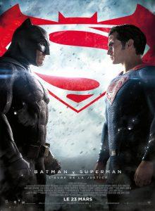 """Affiche du film """"Batman v Superman : L'Aube de la Justice"""""""