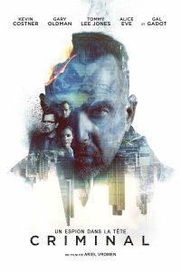 """Affiche du film """"Criminal : Un espion dans la tête"""""""