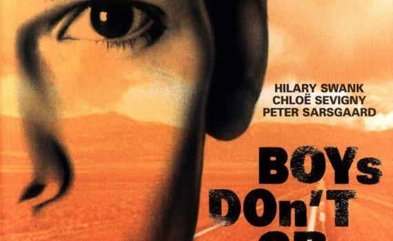"""Affiche du film """"Boys Don't Cry"""""""