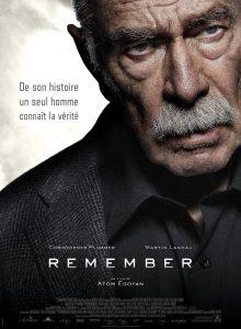 """Affiche du film """"Remember"""""""