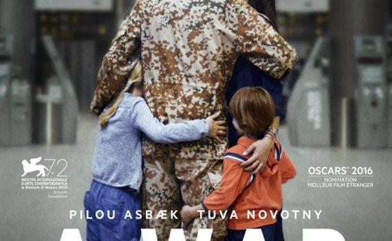 """Affiche du film """"A War"""""""