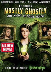 """Affiche du film """"Mostly Ghostly : Une nuit dans la maison hantée"""""""