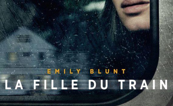"""Affiche du film """"La fille du train"""""""